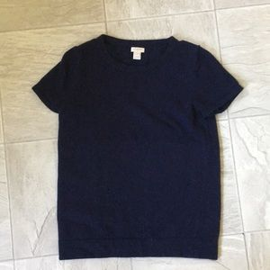 J Crew short sleeve sweater size small